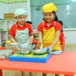 Chương trình học Nhà Trẻ